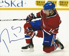 TOMAS PLEKANEC SIGNED MONTREAL CANADIENS 8X10 PHOTO AUTOGRAPH