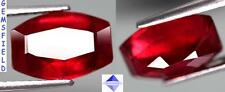 SI !!! 6.42cts RUBIS MADAGASCAR RUBY - sang de pigeon blood luster / poli AAA++