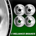 [2 FRONT + 2 REAR] Reliance *OE REPLACEMENT* Disc Brake Rotors C1764