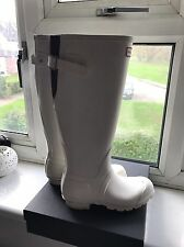Hunter Wellies Size UK 3 EU 35/36 Blanco