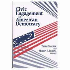 Civic Engagement in American Democracy, Editors, Good Book