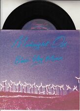 "MIDNIGHT OIL Blue Sky Mine PICTURE SLEEVE 7"" 45 rpm record + juke box strip"