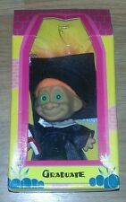 Trollkins Graduate Troll Doll w/Orange Hair BRAND NEW