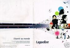 Publicité Advertising 2005  (2 pages) Lagardère