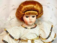 "Carol Anne Goebel Bette Ball Vintage 1990 Gabrielle 14"" Musical Porcelain Doll"