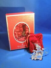 2007 Waterford Crystal Jolly Snowman Ornament With Original Box and Hook
