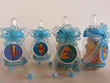 12 Winnie the Pooh Fillable Bottles Baby Shower Favors Prizes Boy Decorations
