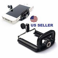 US Camera Stand Clip Bracket Holder Monopod Tripod Mount Adapter for Smart Phone