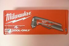 "Milwaukee 2415-20 M12 Cordless Li-Ion 3/8"" Right Angle Drill/Driver Tool On"