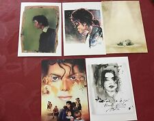 Rare  5 Michael Jackson Giorgio Nate Opus 7x 5 Inches Prints Set 3