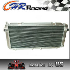 NEW All Aluminum Radiator 91-95 Toyota MR2 3SGTE SW20 FREE COOLANT 92 93 94 95