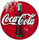 Coke / Coca Cola sticker for catering, ice cream van 150mm round