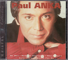 RARE CD 20T PAUL ANKA CRISTAL COLLECTION BEST OF 1994 FRANCE  DIANA, MY WAY ....