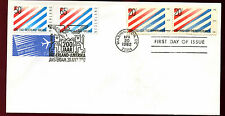 Netherlands/USA 1982 Diplomatic Relations Joint FDC #C36229