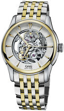 Oris Automatic Artelier Skeleton Mens Watch (0173476704351-0782178)