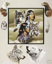 Native Family Tribe Spirit 50x60 Fleece Throw Blanket