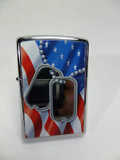 "Zippo - ""FLAG AND DOG TAGS"" -  NEU & ovp - # 917"