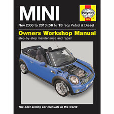 [4904] Mini 1.4 1.6 Petrol 1.6 2.0 Diesel November 2006-2013 Haynes Workshop Man