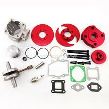 CNC Big Bore Cylinder Piston Crankshaft For 49cc 53cc Mini Dirt Bike Pocket Bike