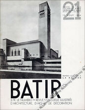 BATIR N°21 ART DECO - ARCHITECTURE & LA BRIQUE HILVERSUM DE KLERK CINEMA 1934