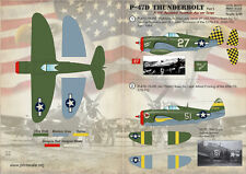 1:48 Print Scale #48-077 P-47D Thunderbolt Razorback Aces over Europe. Part 1