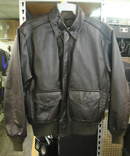 Vtg Avirex A-2 Leather Flight Aviator US Army Air Forces Sz 40 Jacket 30-1415
