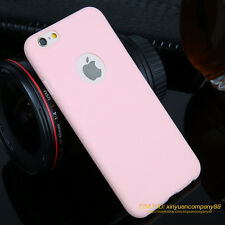 Ultra Slim Soft Silicone TPU Back Case Cover For NEW Apple iPhone 5 SE 6 6s Plus