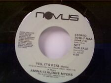 "AMINA CLAUDINE MYERS ""YES IT'S REAL / SAME"" 45 PROMO"