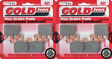 GOLDFREN FRONT BRAKE PADS For: KAWASAKI ZX-6R ZX 636 (2005-2006) ZX6R (ZX636)