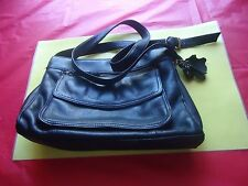 Vintage Bag All Genuine Leather Shoulder,Cross-Body Black Color            - 80S
