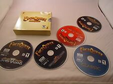 Everquest Gold Edition 5 Disc Set PC Computer Game Classic Planes of Power