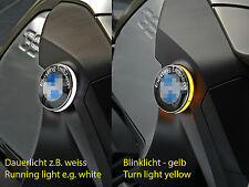 For BMW R1200GS LC Adventure roundel badge two colour LED back- turnlight