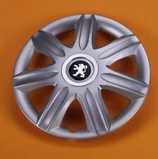 "PEUGEOT  15"" ALLOY LOOK CAR WHEEL TRIM / COVER 15 INCH HUB CAP"