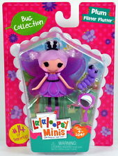 New Lalaloopsy Mini Doll Bug Collection PLUM FLITTER FLUTTER #14 of Series 17