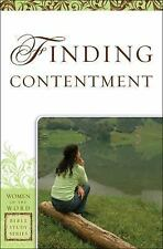 Women of the Word Bible Study: Finding Contentment by Sharon A. Steele (2011,...