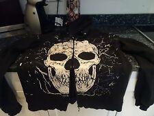 mens goth hoodie L