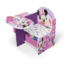 Minnie and Daisy Activity Desk with Chair Toddler Child Learning Playroom NEW!