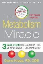 The Metabolism Miracle, Revised Edition : 3 Easy Steps to Rega (FREE 2DAY SHIP)