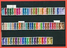 Full Set of 72 Machin Phosphor Paper. SG. X924 --- X991a. UNMOUNTED MINT.