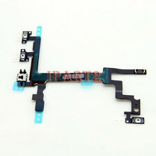 Power Mute Volume Control Button Switch Connector Flex Cable for Apple iPhone 5