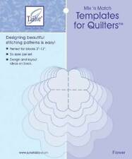 Mix'n Match Templates For Quilters 6/Pkg-Flower [Kitchen & Home]