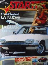 STARTER n°28 1985 Nuova Jaguar HJSC 3.6    [P30]