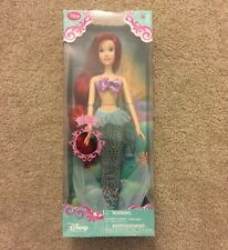 "Disney Store Exclusive Singing 17"" Ariel Doll NIB"