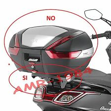 PORTE-BAGAGES KYMCO DOWNTOWN 350 2015 GIVI SR6107