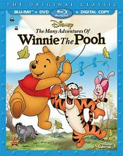 THE MANY ADVENTURES OF WINNIE THE POOH (Disney) -  Blu Ray - Sealed Region free
