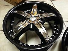 18 inch Dvinci Attivo Chrome wheel Rims inserts 5 pieces NEED WHEELS? WE HAVE