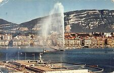 BF1257 geneve les bains et la jet d eau  Switzerland