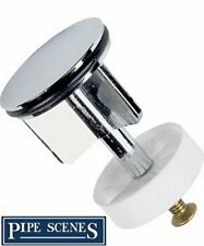 Brand New Chrome Plated Brass Pop Up Basin Sink Plug
