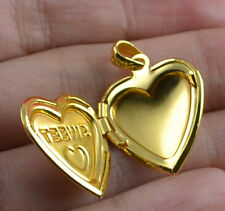 Jewelry Fashion 18K yellow gold filled open Pendant gift K740