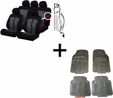 Knightsbridge Universal coche cubiertas de asiento + Goma esteras Toyota Honda Suzuki Subaru